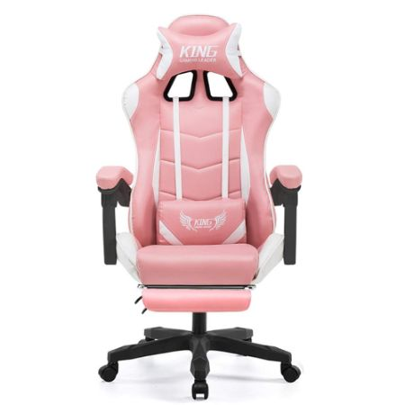 Gaming Chair with footrest by L.HPT-chairs