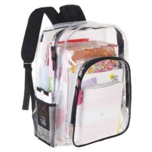 Heavy Duty Clear Backpack Transparent Bag