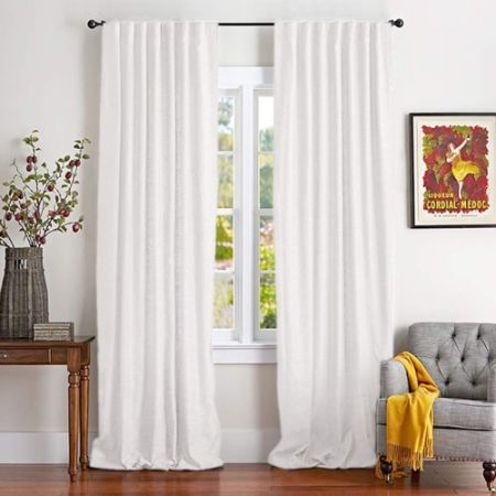 White Cotton Curtains for Bedroom Cotton Curtains