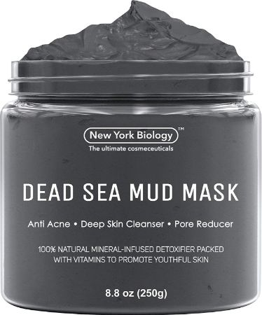 Dead Sea Mud Mask for Face & Body - 100% Natural Spa Quality