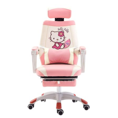 OUG Esports Game Chair/Staff Chair, Cute, Patterned Cat