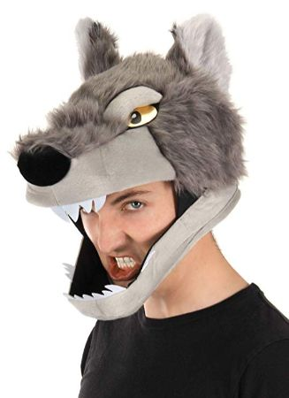 elope Wolf Costume Jawesome Hat