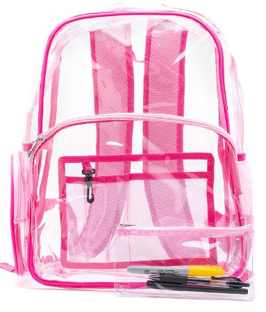 Top 15 Best Clear Backpacks in 2020 Reviews
