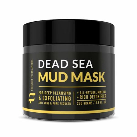 Dead Sea Mud Mask - Enhanced with Collagen - Reduces Blackheads