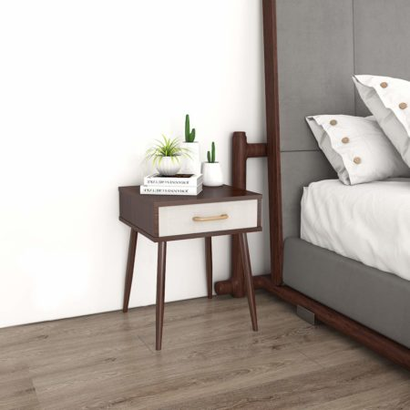 Lifewit Nightstands with 1 Fabric Drawer
