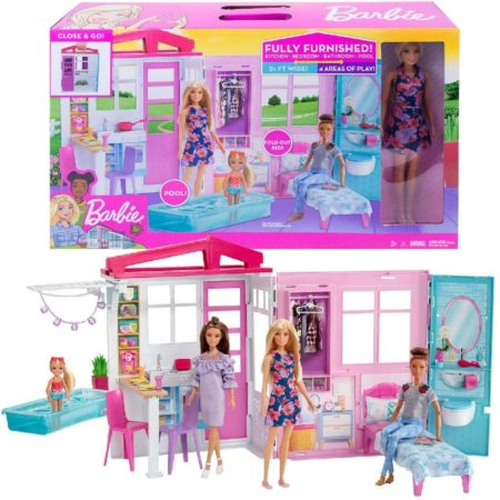 Barbie Doll and Dollhouse