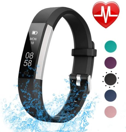 LETSCOM Fitness Tracker with Heart Rate Monitor