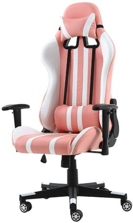 Pink Gaming Chair Computer Chair,