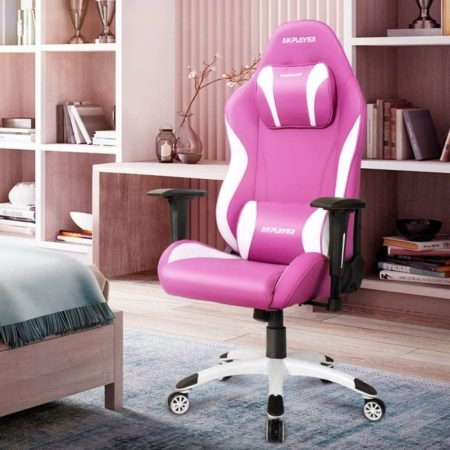 Home Office Furniture Ergonomic Chair, Pink Gaming Chairs