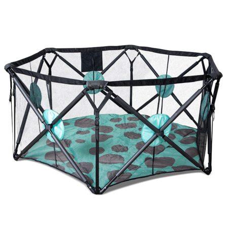 Milliard Playpen Portable Playard with Cushioning for Safety