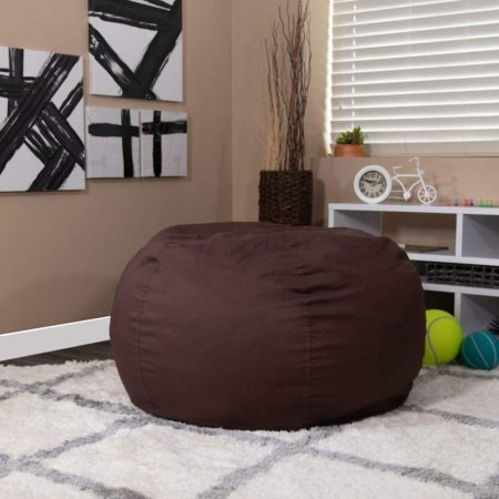 Flash Furniture Oversized Solid Brown