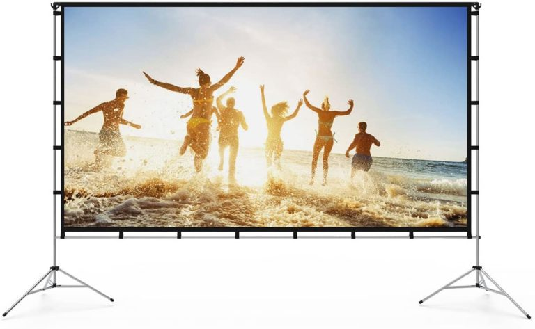 Top 12 Best Portable Projector Screens in 2021 Reviews