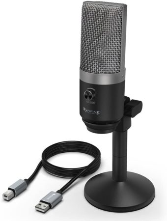 Fifine PC Microphone for Mac and Windows