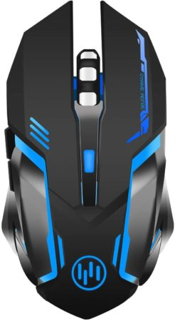 Wireless Gaming Mouse, Scettar Rechargeable
