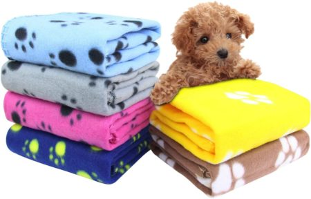 AK KYC 6 Pack Mixed Puppy Blanket