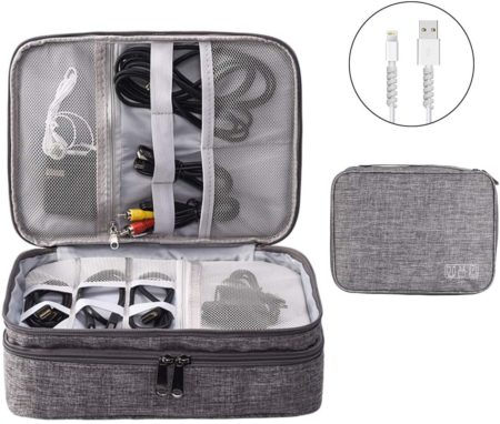 OrgaWise Electronic Accessories Bag Travel