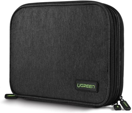 UGREEN Electronic Organizer Travel Cable Gadget Wire Accessory