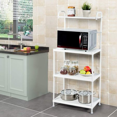 Giantex 4-Tier Kitchen Microwave Storage