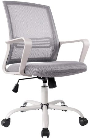 Office Chair, Mid Back Mesh Office Computer Swivel