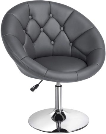 Yaheetech Swivel Accent Chair