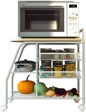 ZXYY Microwave Oven Kitchen Cart