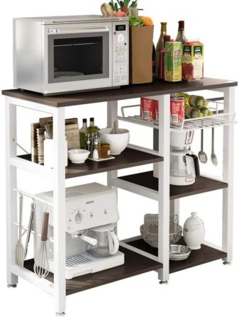 soges 3-Tier Kitchen Baker's Rack Utility Microwave Oven Stand