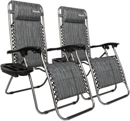 Bonnlo Infinity Zero Gravity Chair Pack 2