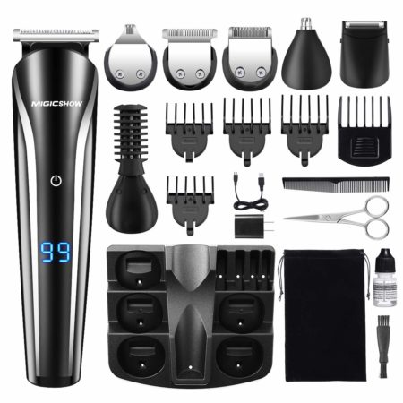 Beard Trimmer for Men, MIGICSHOW Hair Clippers
